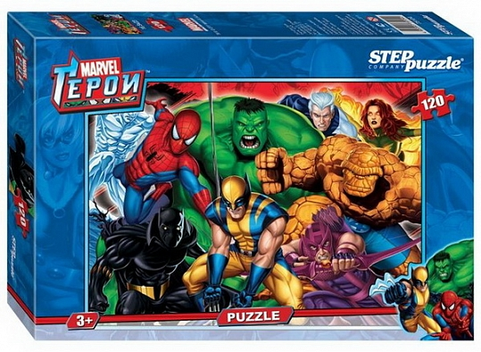 "Пазл 120эл MARVEL ""Marvel"" 75104 STEPPUZZLE"